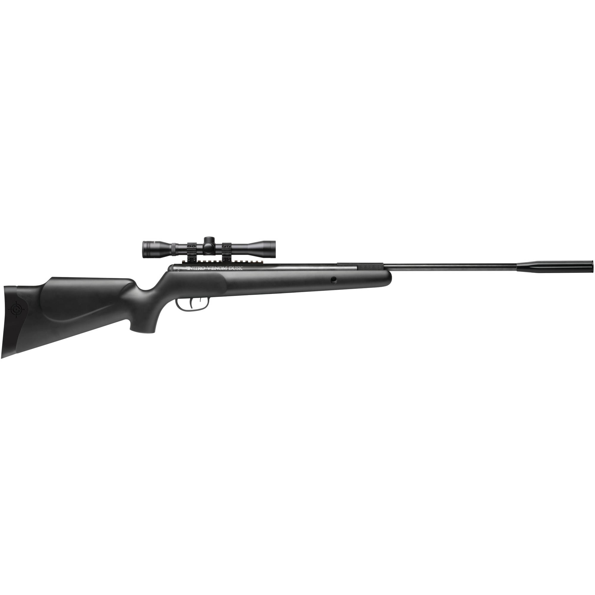 Crosman Nitro Venom Dusk NP .22 Caliber Break Barrel Air Rifle with Scope, 950fps by Crosman Corporation