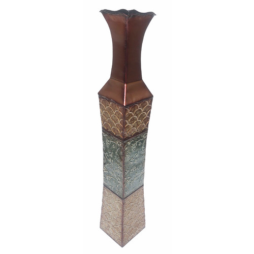 D'lusso Designs Denise Metal Floor Vase