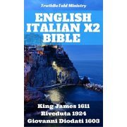 English Italian x2 Bible - eBook