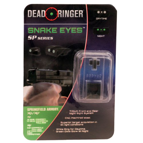 Dead Ringer Replacement Tritium Night Sight Springfield CD and XDM