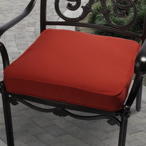 Mozaic Company Vera Outdoor Dining Chair Cushion