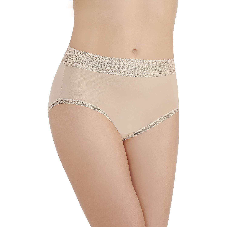 bde82a15e52 Vanity Fair - Women s Vanity Fair 13281 Flattering Lace Brief Panty -  Walmart.com