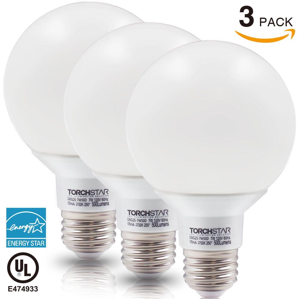 Bathroom Vanity Led Light Bulbs vanity globe bulbs