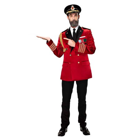 Red Costumes For Men (Captain Obvious Mens Costume)