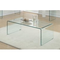 Coaster Home Furnishings 705328 Coffee Table, Clear