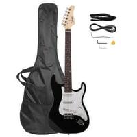 Glarry Rosewood Fingerboard 22 Frets Electric Guitar + Gigbag + Strap + Pick