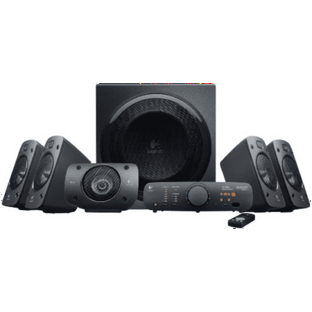 Logitech Z906 5.1-Channel 500W Dolby Surround Subwoofer,