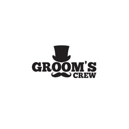 Groom's Crew: Groom's Crew Bachelor Party Doodle Diary Book Gift With Mustache And Top Hat On A Notebook For Groomsmen! For Wolf Pac