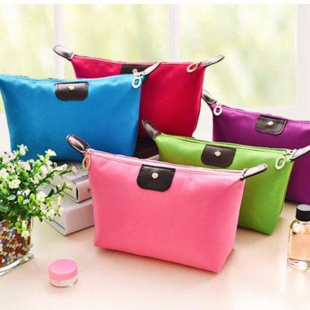 Waterproof Nylon Women Makeup Cosmetic Bags Travel Beauty Toiletry Bag - image 8 of 8