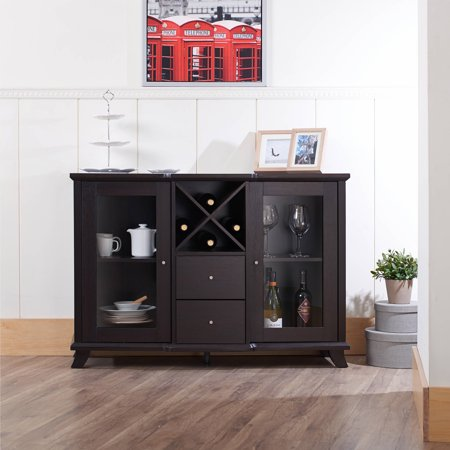 Furniture of America Melissa Modern Dining Buffet, Cappuccino