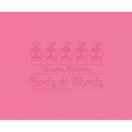 Charles Harpers Birds   Words  W Flamingo Print  With Flamingo Print