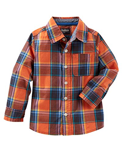 OshKosh BGosh Boys Toddler Woven Buttonfront