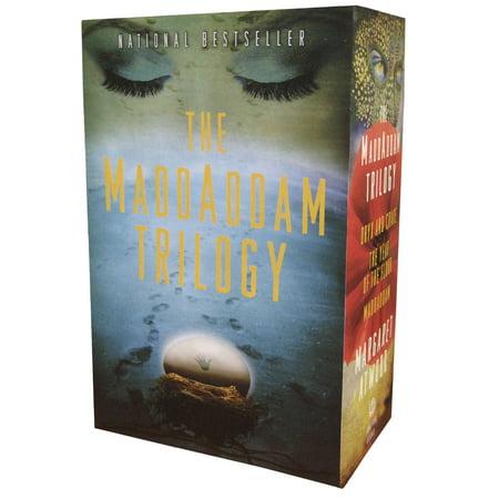 MADDADDAM TRILOGY BOX : Oryx & Crake; The Year of the Flood; (Margaret Atwood Year Of The Flood Trilogy)