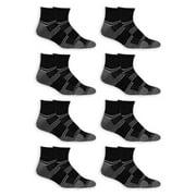 Fruit of the Loom Men's Breathable Ankle Socks 8 Pack
