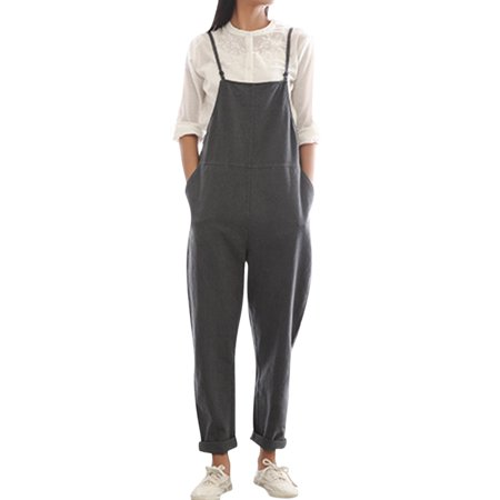 3e0b6b038c77a ZANZEA - Maternity Pants Women's Jumpsuits Straps Casual Overalls -  Walmart.com