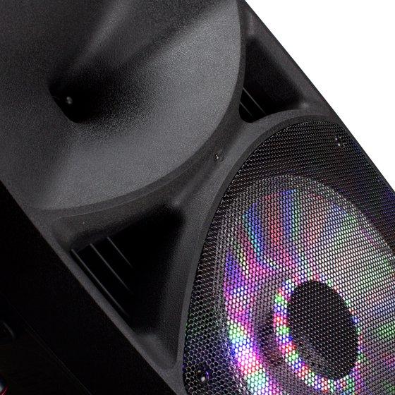 Frisby FS-4065PA Portable Rechargeable Bluetooth Karaoke