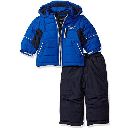 London Fog Boys 12-24 Months Snow Pant Jacket (Coat 30 Pants)