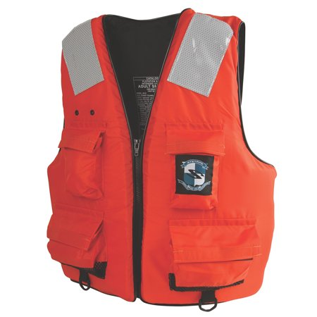 Stearns 2000011407 First Mate Life Vest - Orange - Xxx-large