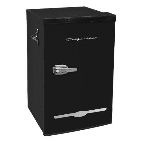 Frigidaire 3.2 Cu Ft Retro Mini Fridge With Side Bottle Opener,
