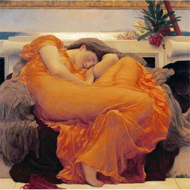 Bentley Global Arts PDX266750LARGE Flaming June Poster Print by Lord Frederick Leighton, 24 x 24 - Large - image 1 of 1