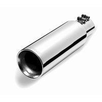 Gibson Exhaust 500422 GIB500422 POLISHED STAINLESS STEEL TIP