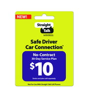 Straight Talk Safe Driver Car Connection 30-Day Plan $10 (Email Delivery)