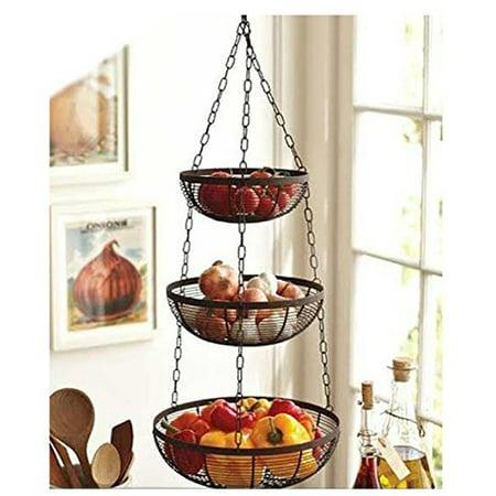 Useful. 3 Tier Hanging Fruit Basket