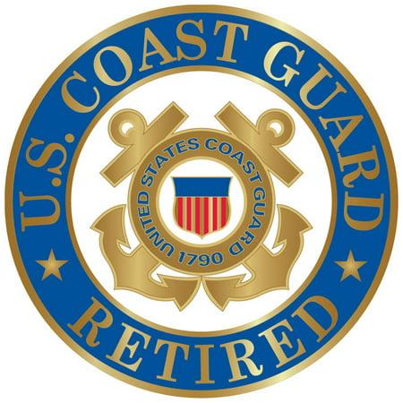 United States Coast Guard Logo Retired - Coast Guard Retired