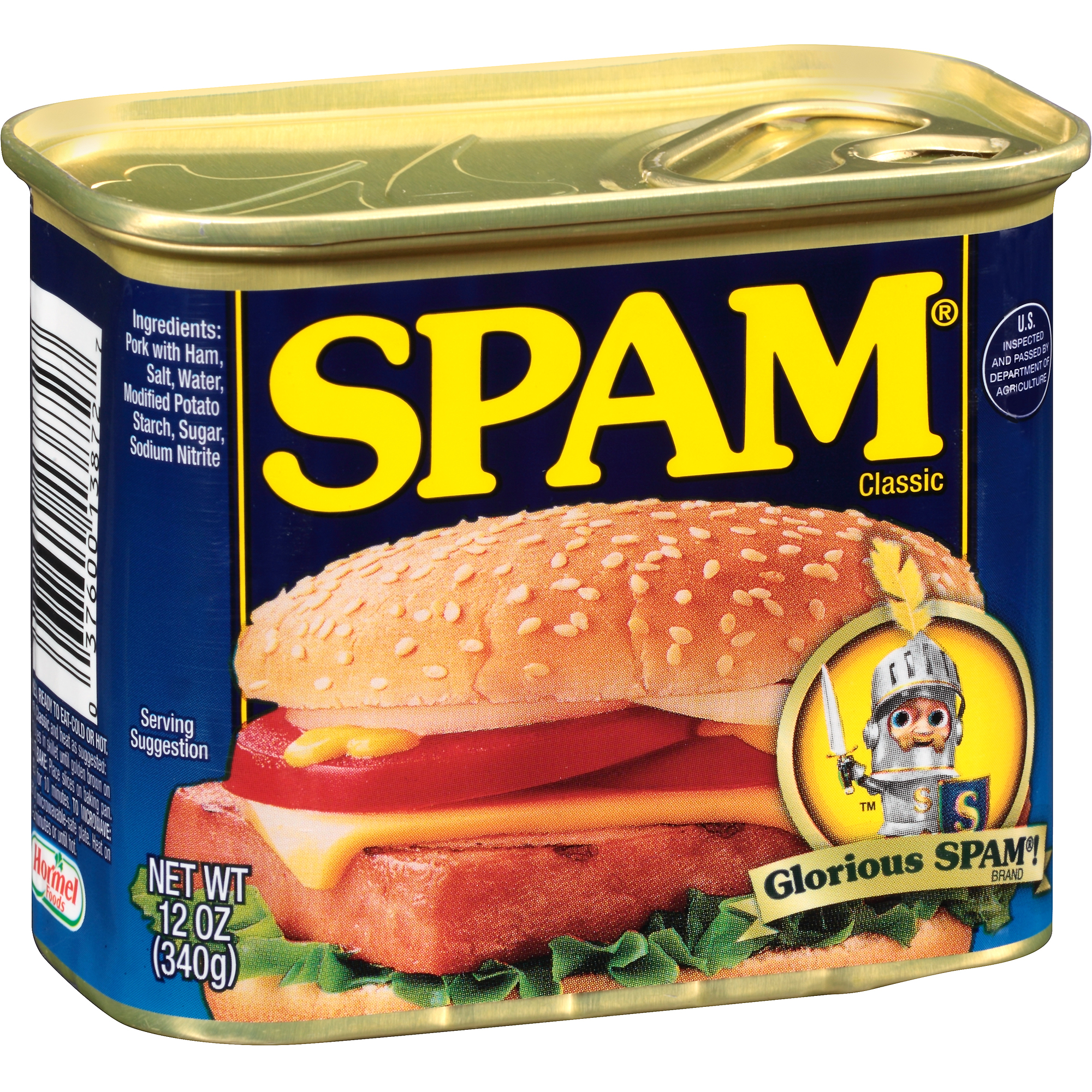 Spam Canned Meat, 12 oz