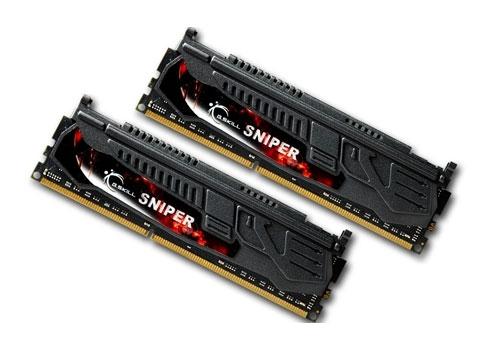 G.Skill F3-14900CL9D-8GBSR Sniper Series 8GB (2x4GB) DDR3-1866MHz RAM Memory