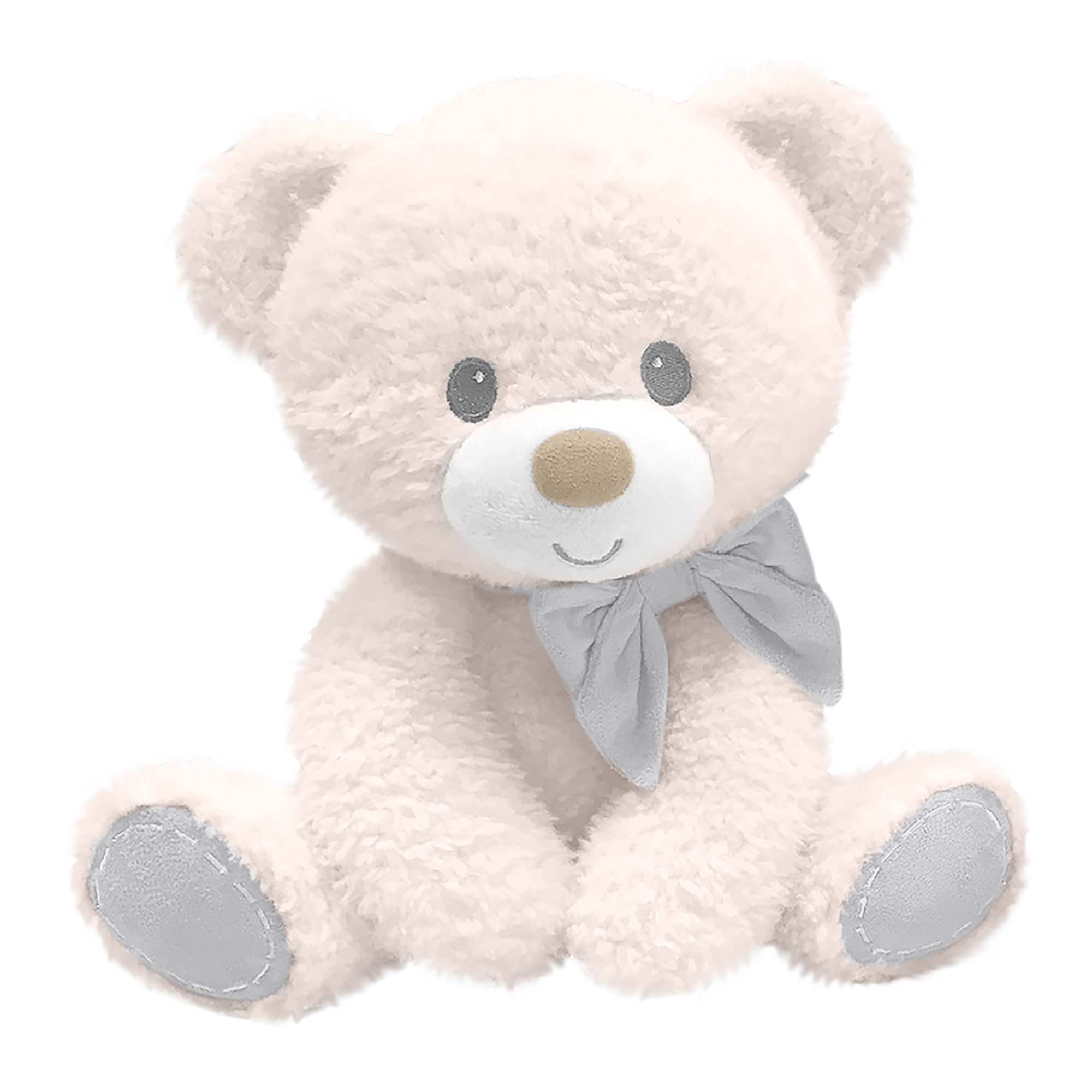 First and Main - Ivory Tumbles Bear Plush, 7 Inches