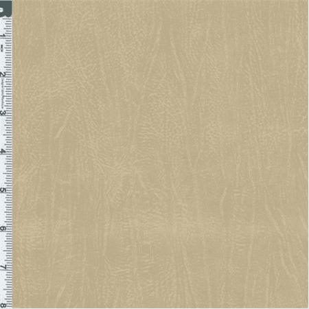 Metallic beige vinyl home decorating fabric fabric by the for Home decorating fabric by the yard