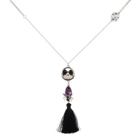 Nightmare Before Christmas Jack Fringe Pendant Necklace