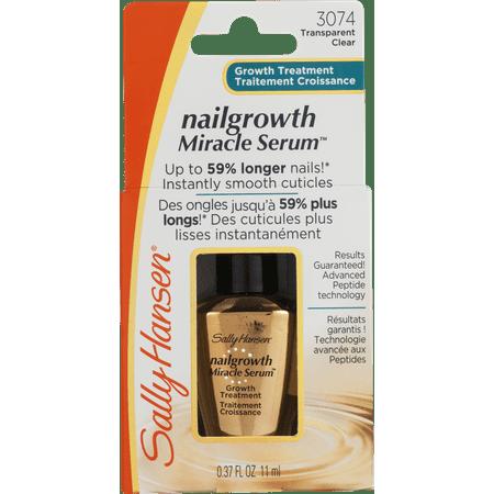 Sally Hansen Nailgrowth Miracle Serum 0 37 Fluid Ounce