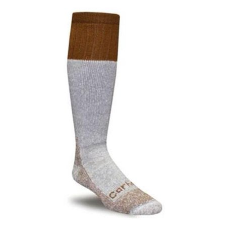(Carhartt Men's White Extreme Cold Weather Boot Socks Size Large)