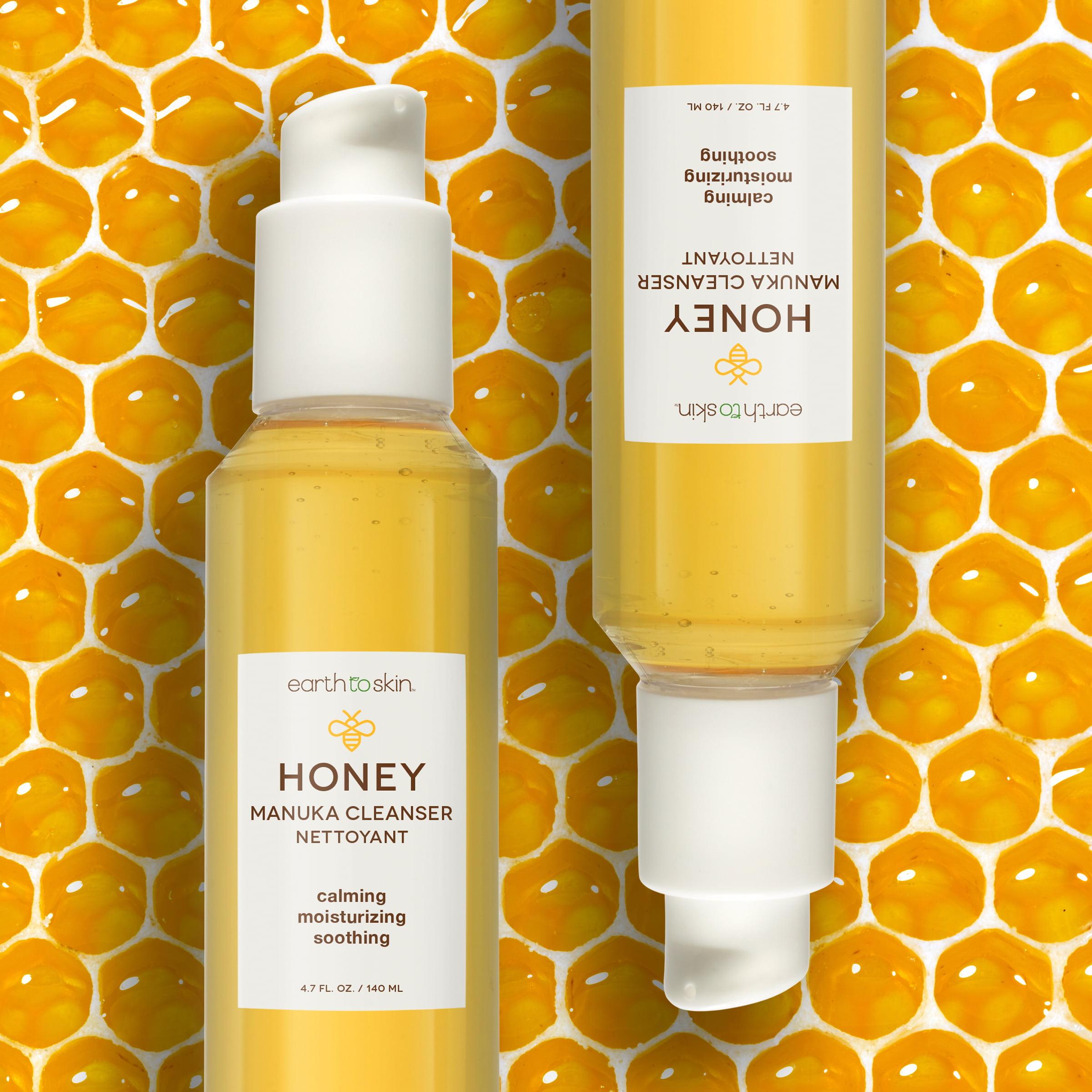 Earth To Skin Honey Manuka Calming Face Cleanser 4 74 Oz Walmart Com Walmart Com