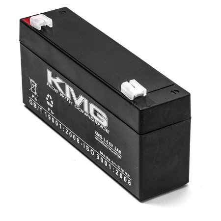 KMG 6V 3 Ah Replacement Battery for Health-O-meter 595KL PEDIATRIC - image 3 of 3