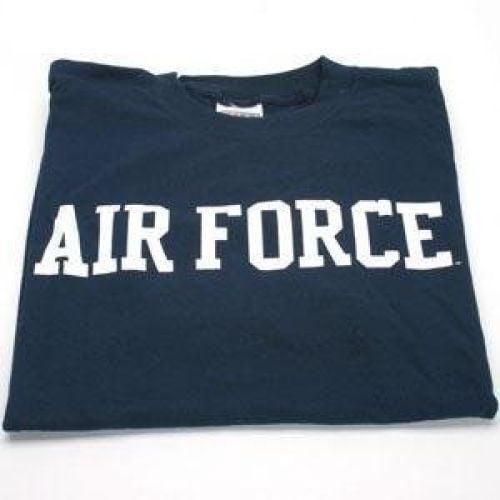 Air Force Falcons T-shirt - Vertical, Navy