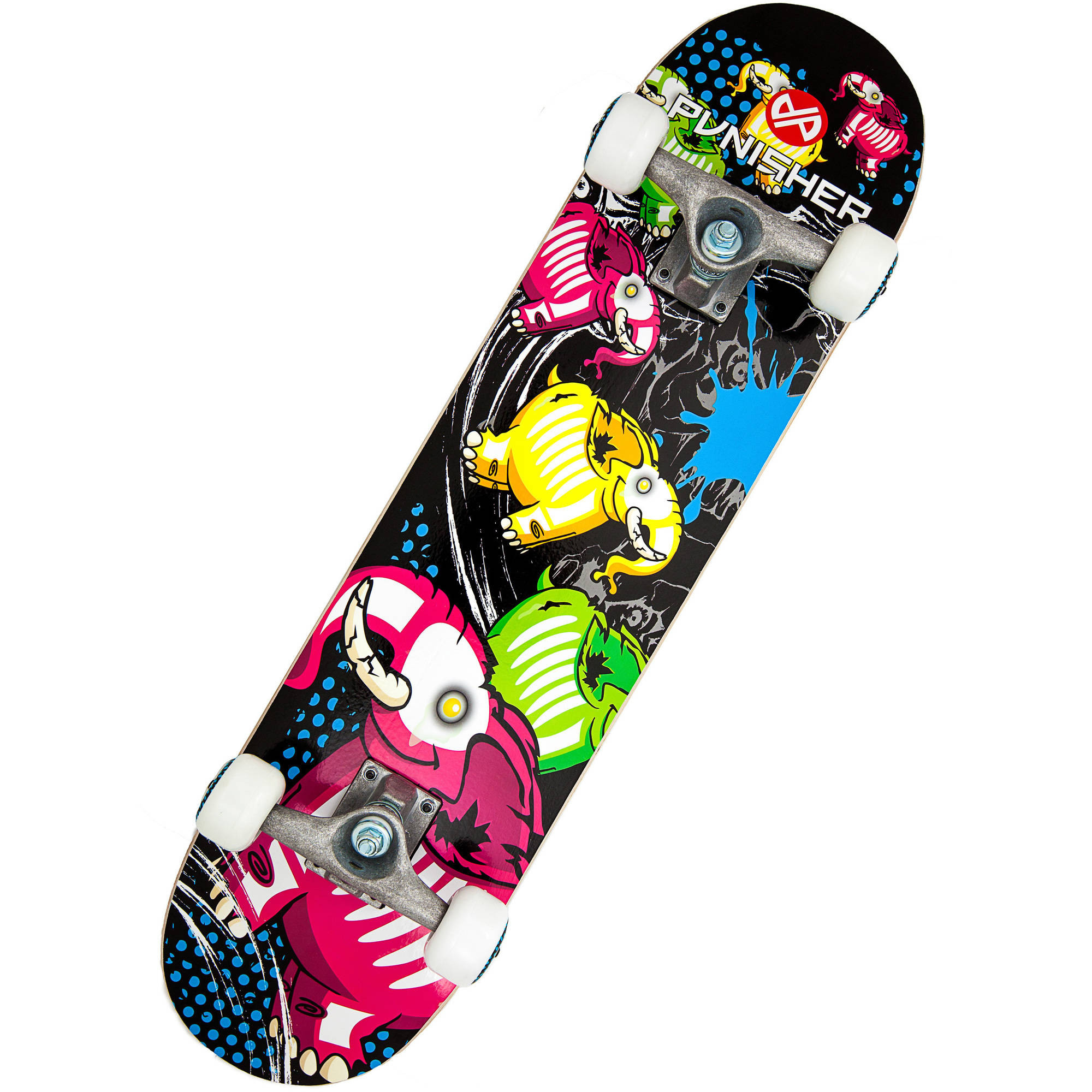 """Punisher Skateboards Elephantasm 31.5"""" ABEC-7 Complete Skateboard by Generic"""