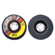 Cgw Abrasives 31051 4-1/2x7/8 Zs-36 T29 Regstainless Flap Disc