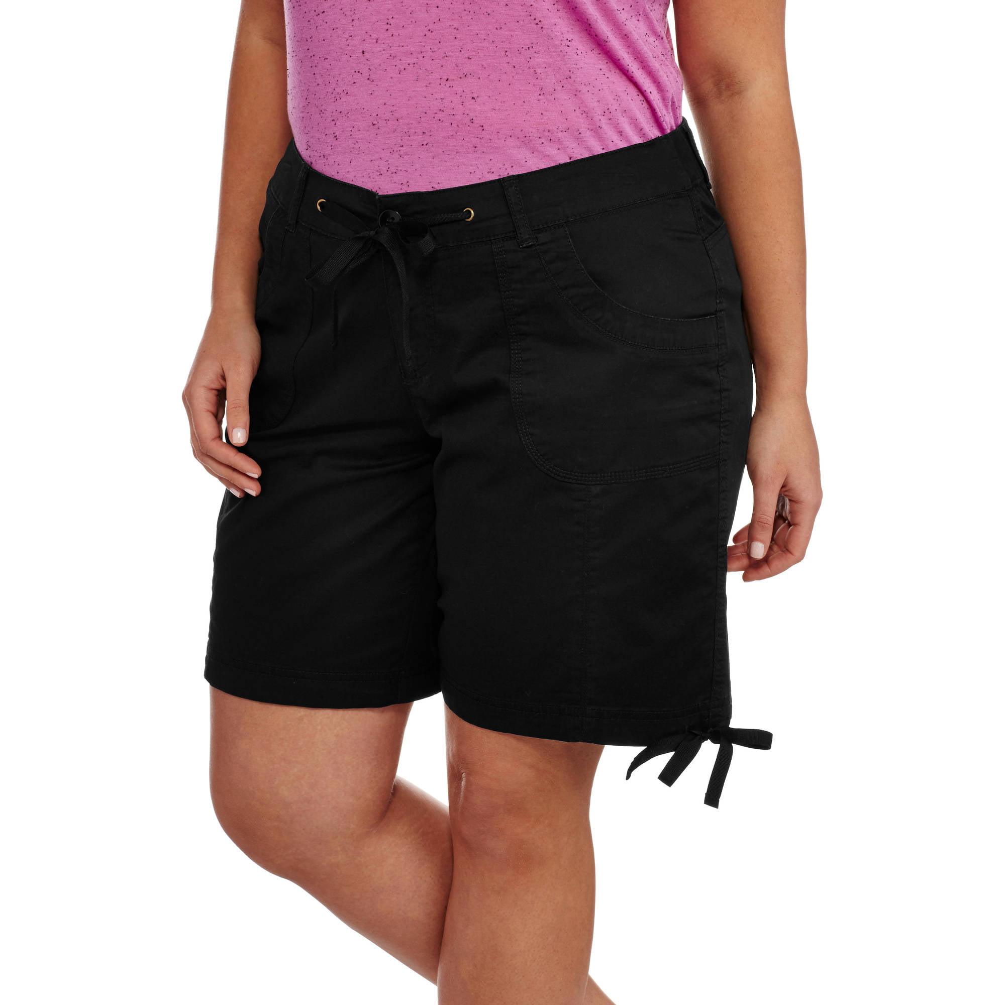 Faded Glory Women's Plus Twill Shorts