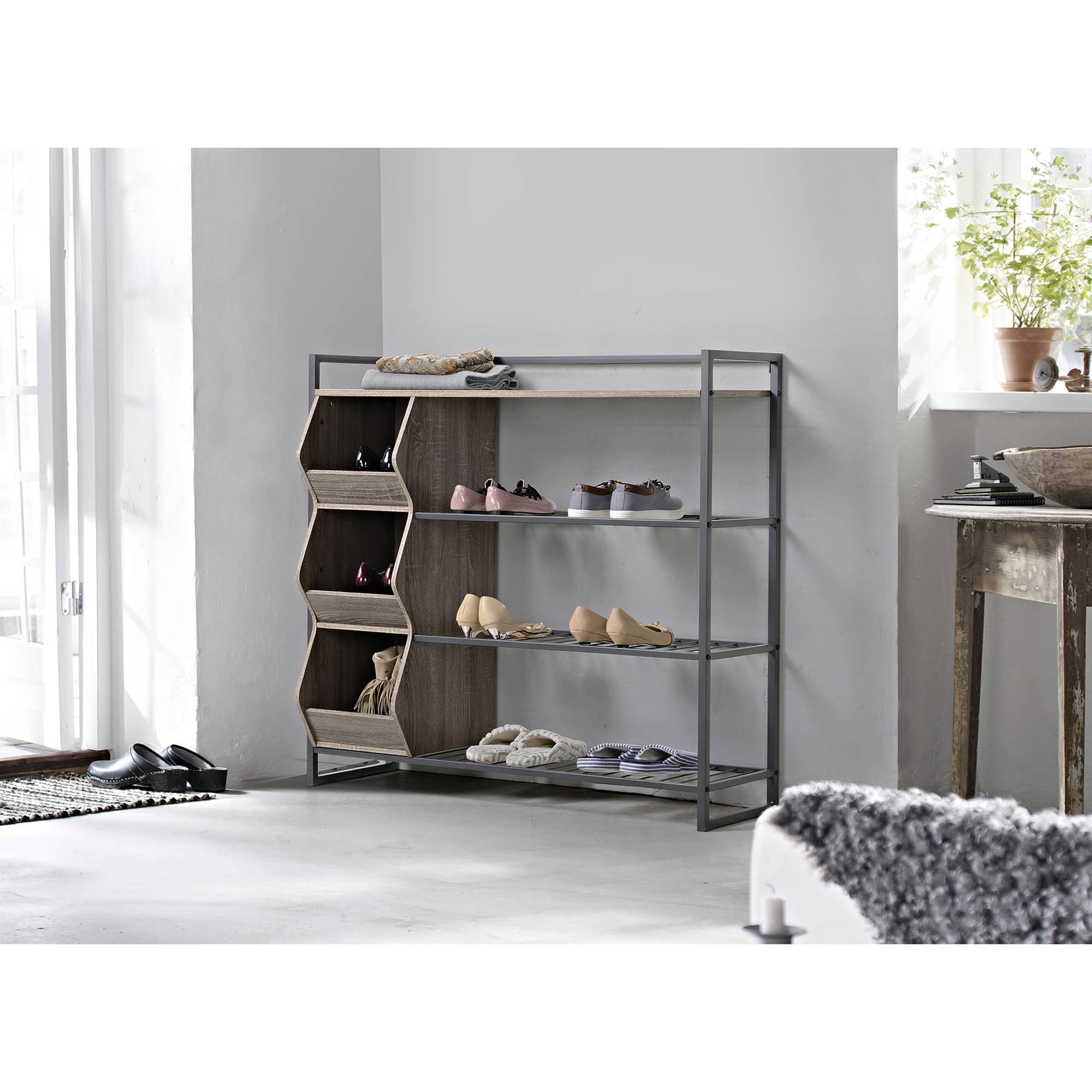 Homestar 4-Shelf Shoe Rack