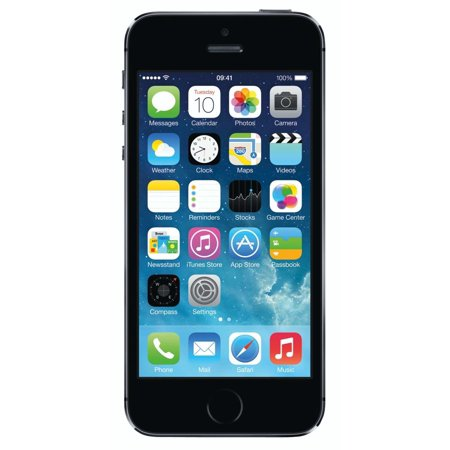 Apple iPhone 5S 16GB Factory Unlocked GSM Cell Phone - Gray (Pre-Owned)