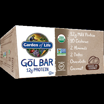 Garden of Life - Organic GOL Bars Chocolate Coco case 12