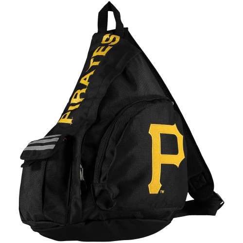 Pittsburgh Pirates Leadoff Sling Backpack - Black - No Size