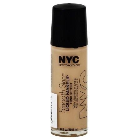 Protective Fluid Foundation (N.Y.C. New York Color Smooth Skin Foundation, Warm Beige, 1 Fluid)