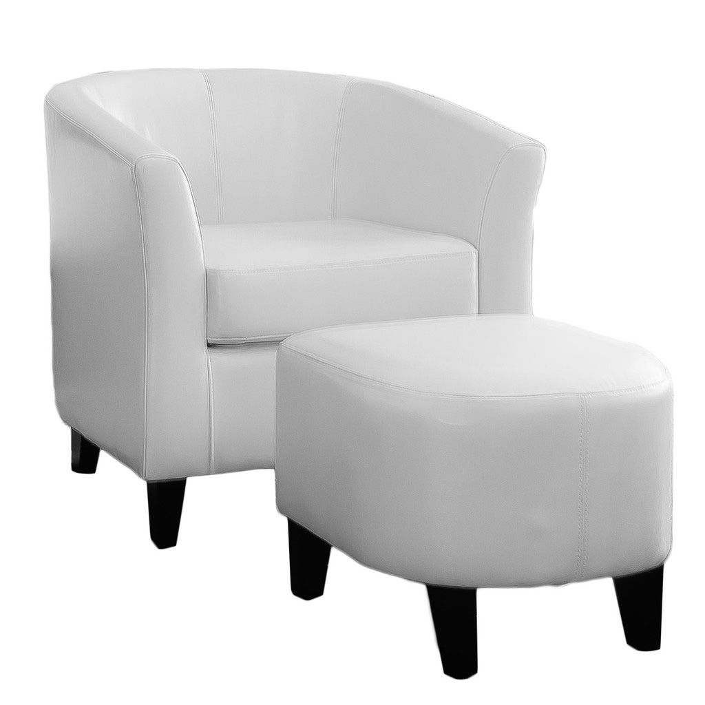 Charmant Batum Ivory Club Chair And Ottoman Set   Walmart.com