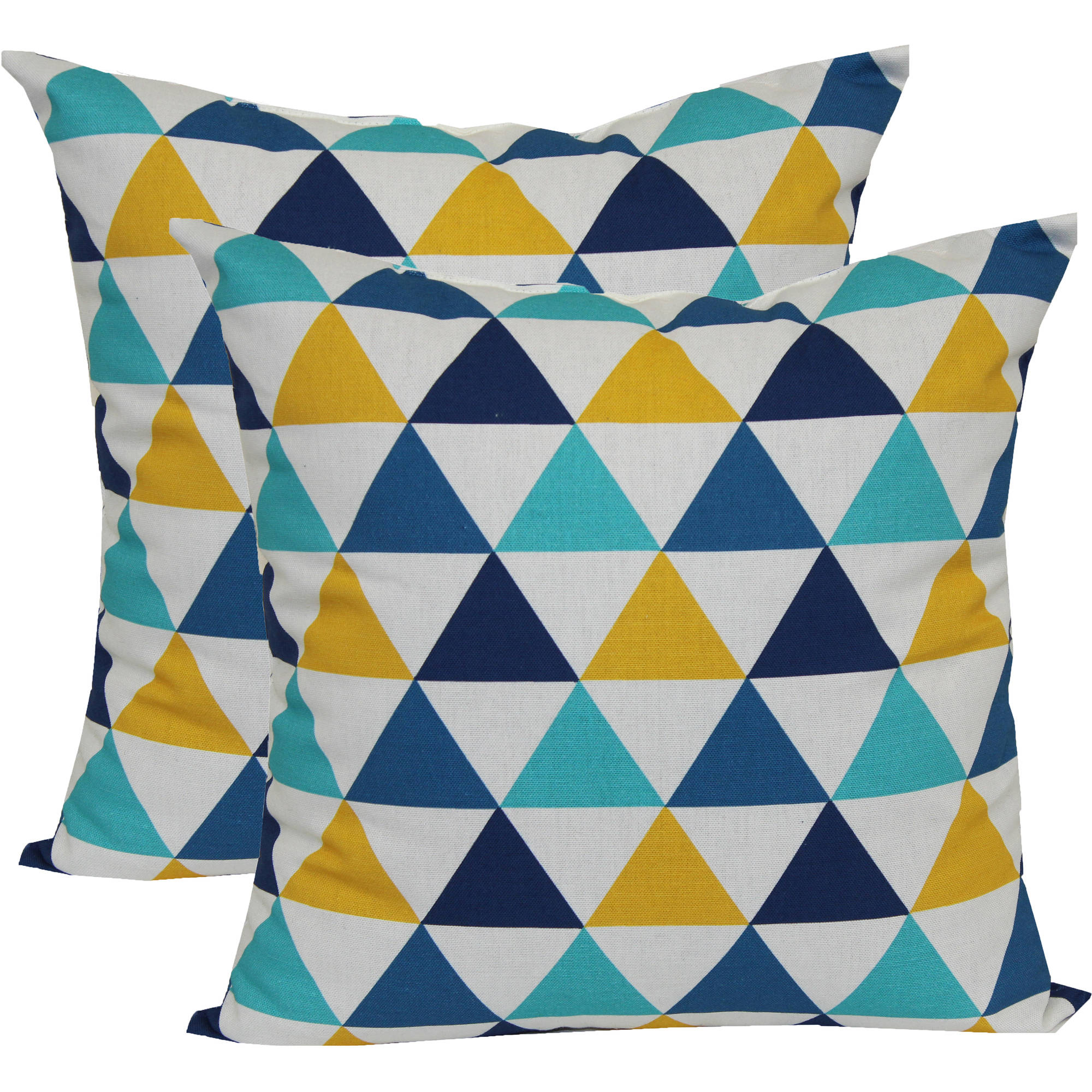 Mainstays Triangle Outdoor Toss Pillow ...