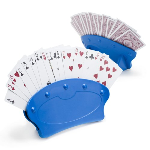 Brybelly Hands-Free Playing Card Holders, 2-pack