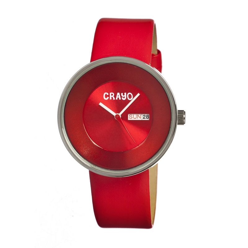 Crayo Cr0206 Button Watch